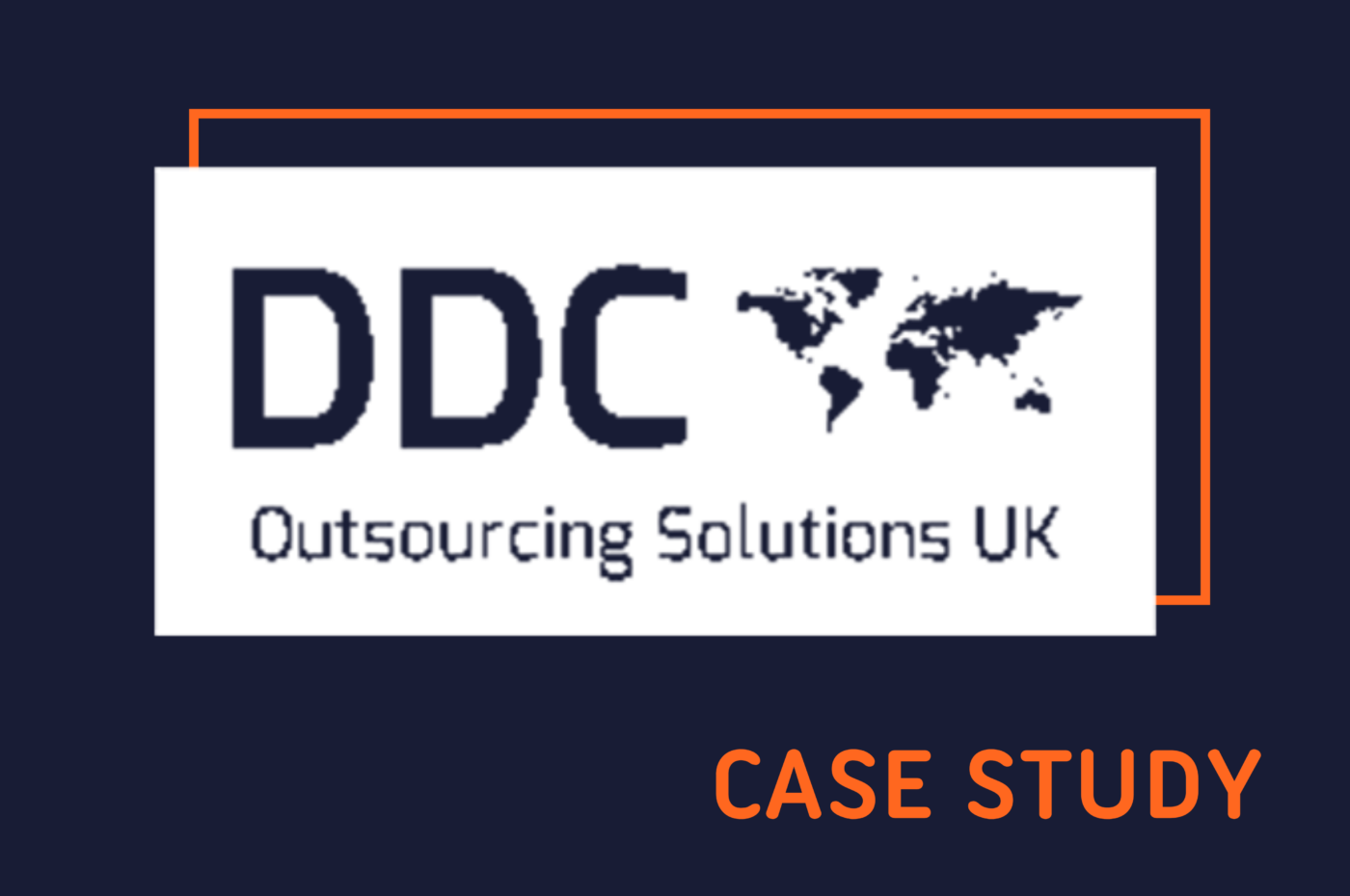 Feature image of DDC Case Study webinar, with DDC logo