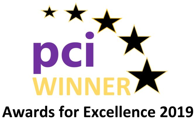 PCI Awards for Excellence 2019 Winner Graphic