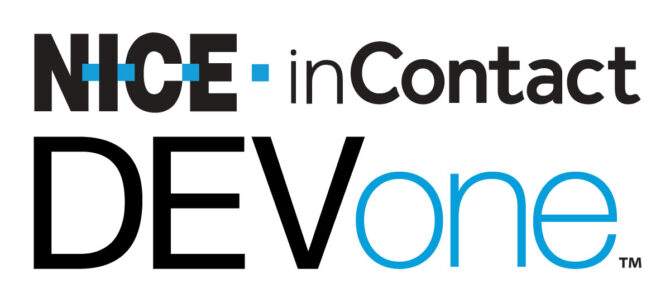 NICE inContact and DEVone logo