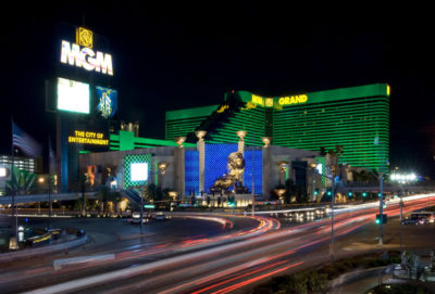 An outside view of MGM Resort