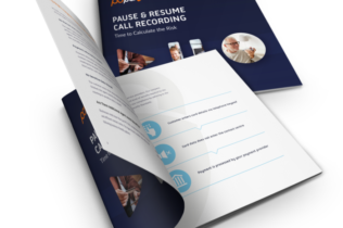 Digital Mock-up of PCI Pal Pause & Resume White Paper