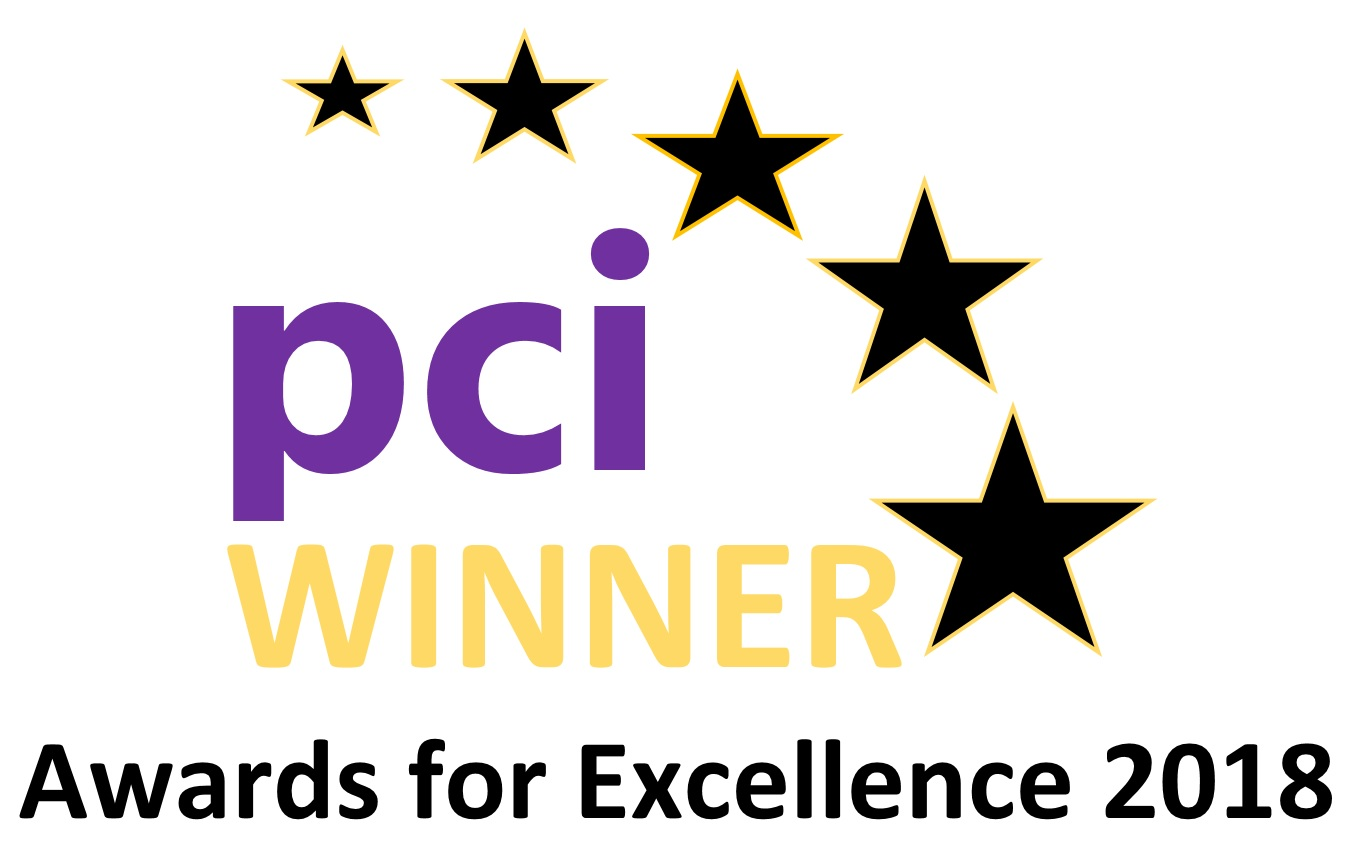 PCI Awards for Excellence 2018 Winner Graphic