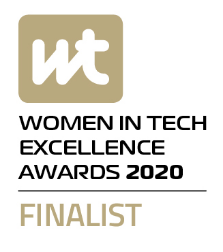 Women in Tech Excellence Awards 2020 – Finalist logo