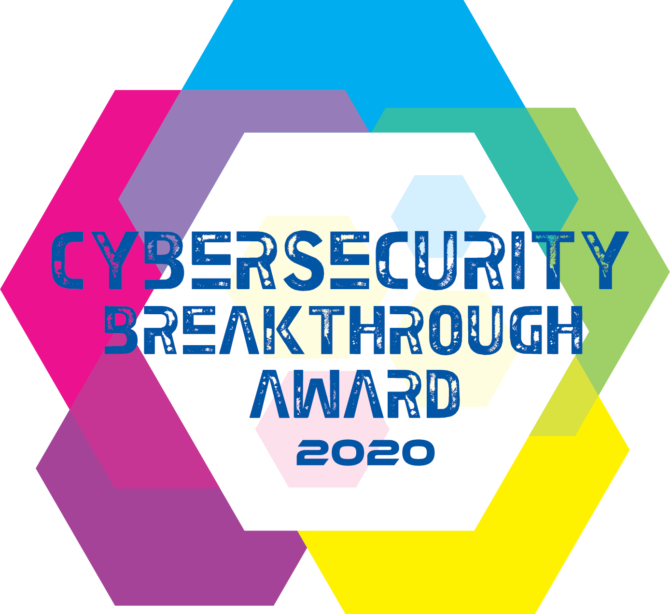 Cybersecurity Breakthrough Award 2020 logo