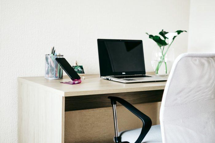 home working setup