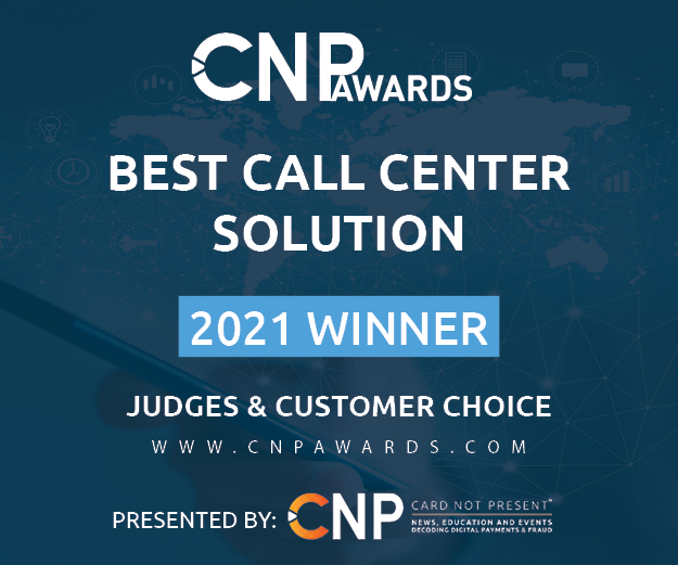 2021 CNP Awards Winner - Best Call Center Solution Graphic for Judges & Customer Choice