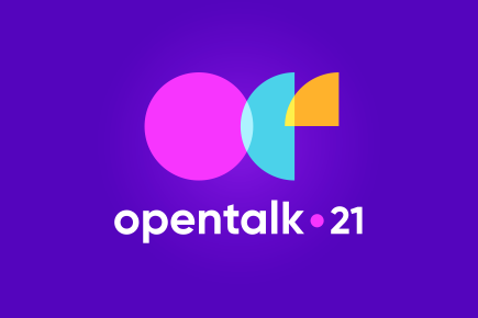 Talkdesk Opentalk 21 event logo